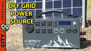Inergy Apex Review: Unlimited power after SHTF Solar Generator