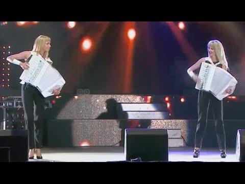"Аккордеонистки России-дуэт""ЛюбАня""-LIVE SOUND [accordion, баян, concertina]"