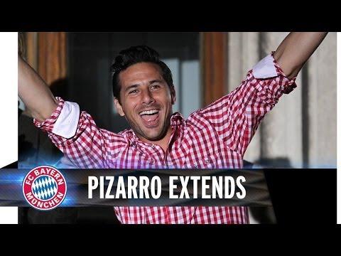Pizarro extends contract