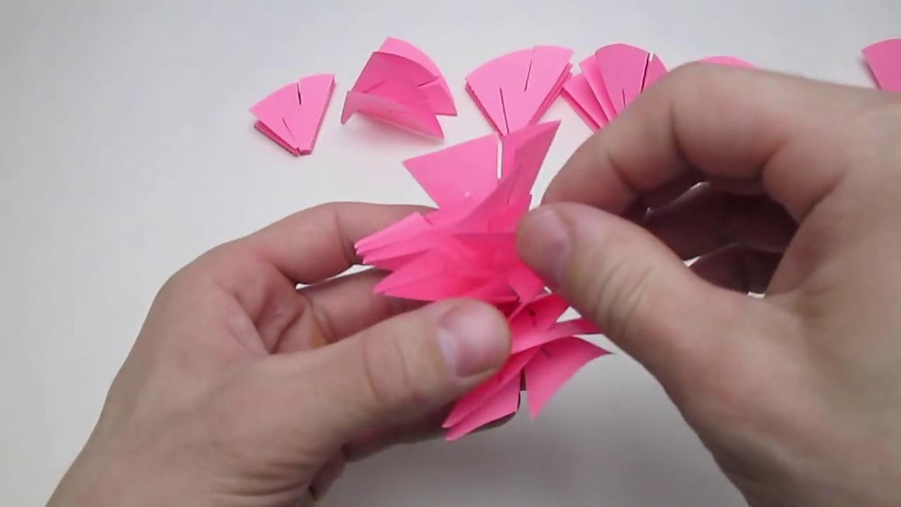 Как сделать валентинку из бумаг 221