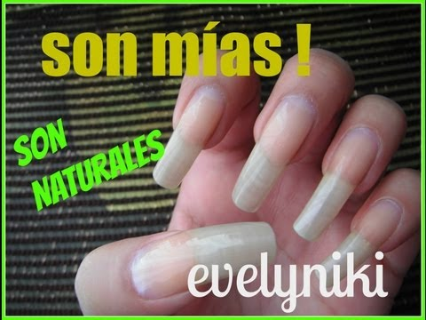MIS UAS AL NATURAL / NAILS NATURALS 