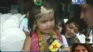 Interview of Jai shri krishna kid- Dhriti Bhatia