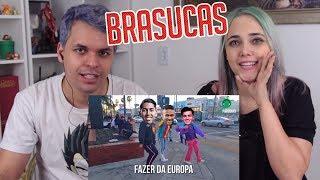 REACT QUAL BRASILEIRO VAI BRILHAR MAIS NA EUROPA? | Paródia Vou Desafiar Você - Sapão (FutParódias)
