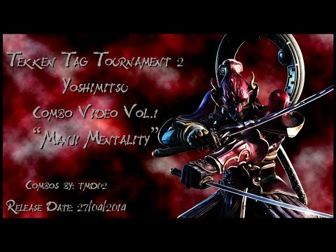 Tekken Tag Tournament 2 Yoshimitsu Combo Video Manji Mentality