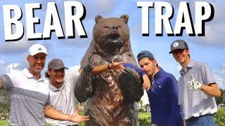 The Hardest Stretch Of Holes in Golf - The Bear Trap | GM GOLF