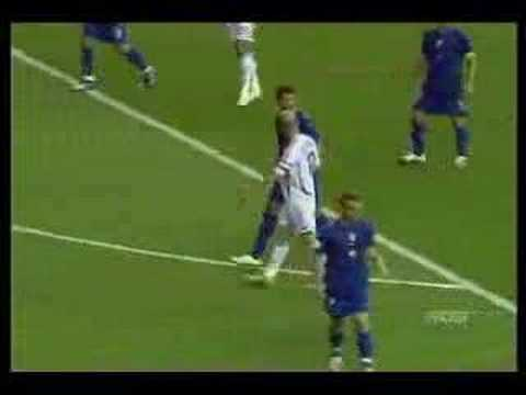 Zinedine Zidane Head butt in world cup 2006 (Germany) Video