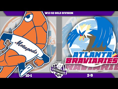 "New York Metapods vs Atlanta Braviaries! NPA W13! ""Make Haste"" - Pokemon LIVE WIFI Battle"