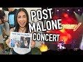 TRYING TO MEET POST MALONE AGAIN! Post Malone Concert -