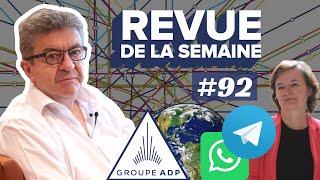 #RDLS92 : ADP, WHATSAPP, 26 MAI, SONDAGES, BLITZKRIEG DE LOISEAU, MOSELLE, JOUR DU DÉPASSEMENT