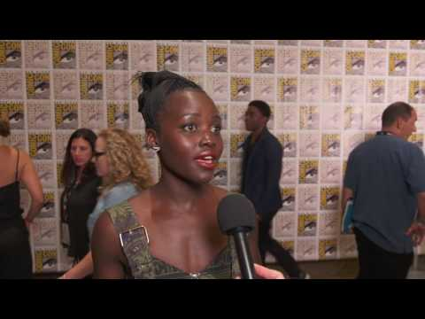 Black Panther: Lupita Nyong'o Comic Con 2016 Movie Interview