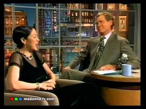 MADONNA on LETTERMAN 1994 (Original Uncut Swearing) - Part 1