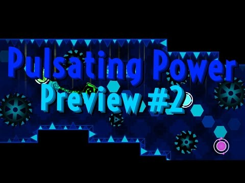 Geometry Dash - Pulsating Power Preview #2 - Collab w/ Reliever & Skorch!