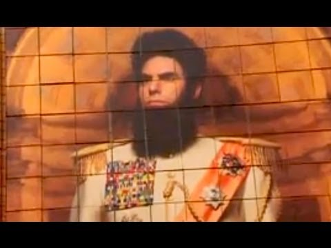 Sacha Baron Cohen takes 'The Dictator' to Seville Music Videos