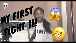 STORYTIME & REACTION: My First Fight (VIDEO INCLUDED!!)