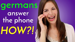 PHONE CALLS: Differences in Germany & USA