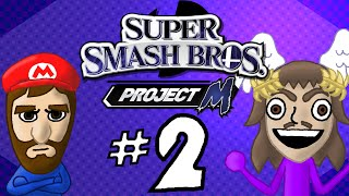 SMOB Super Smash Bros Project M Part 2: Paper (Thin) Mario References