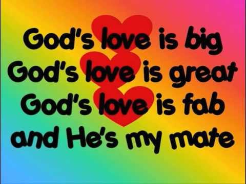God's love is big
