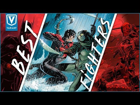 Top 10 Fighters In DC Comics!