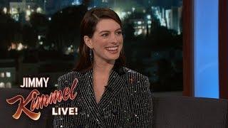 Anne Hathaway's Son Hates Her Singing