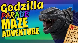 Godzilla Maze Adventure Educational Video for Kids