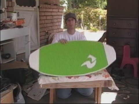 how to build a skimboard