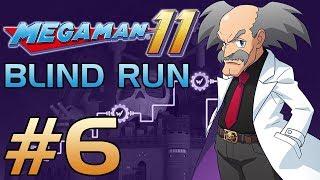 Mega Man 11 [Blind Run] - Part 6: Penultimate Gauntlet (Gear Fortress 2 & 3)