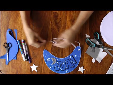 Manualidad - como hacer una visera