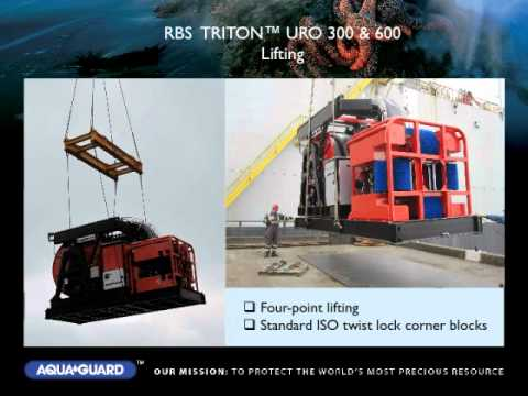 Aqua-Guard RBS TRITON 300/600 URO - Offshore oil skimming system