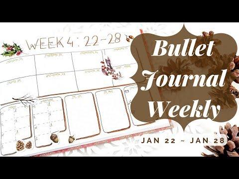 Bullet Journal Weekly Spread #2