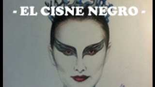 Dibujo a Nina, El Cisne Negro | Drawing Nina, The Black swan