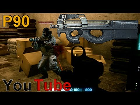 Battlefield 3 : PDW  P90 - How To Make It On YouTube Talk