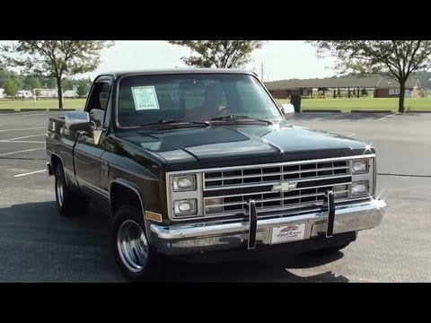 Test Driving 1986 Chevrolet Silverado C10 Pickup
