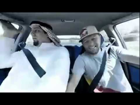 Funny drifts: Saudi guy did this many times before !! Drifting with Abdo Fghali