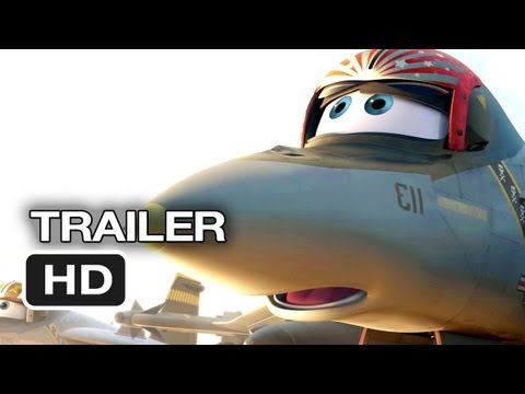 Planes Official TEASER 1 (2013) - Dane Cook Disney Animated Movie HD