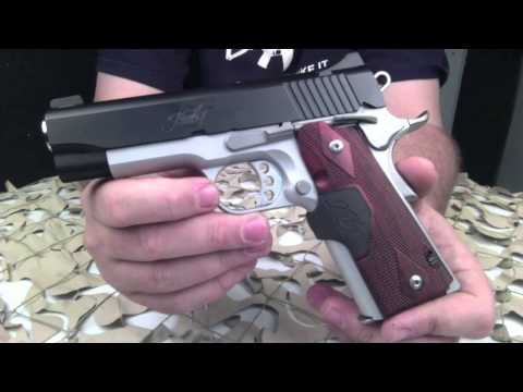 Kimber Pro Crimson Carry II 1911 45ACP Pistol Overview - Texas Gun Blog