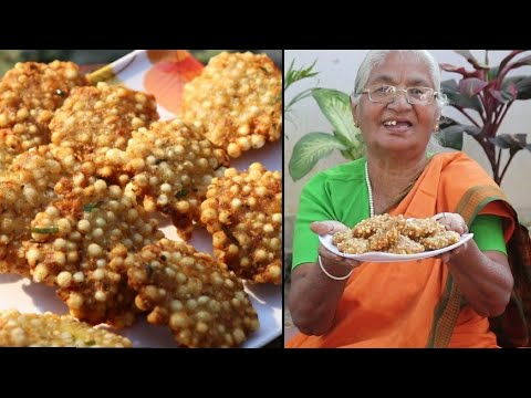 sabudana vada - Upvas Snack | Quick & Easy Recipe by aaji In Marathi