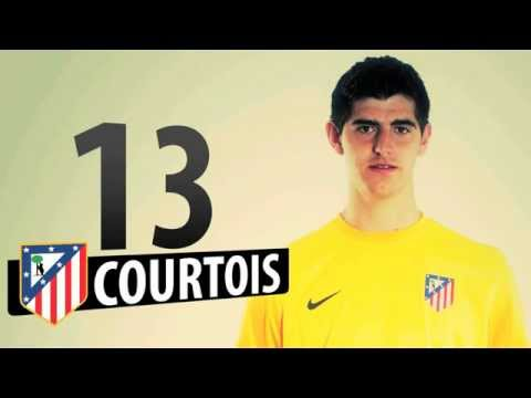 Supercopa de Europa 2012 Once titular del Atlético de Madrid para el enfrentamiento ante el Chelsea