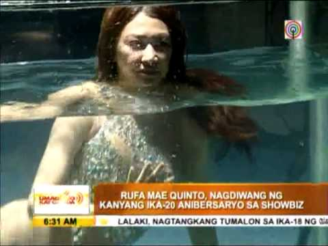 Rufa Mae gets wet for sexy pictorial