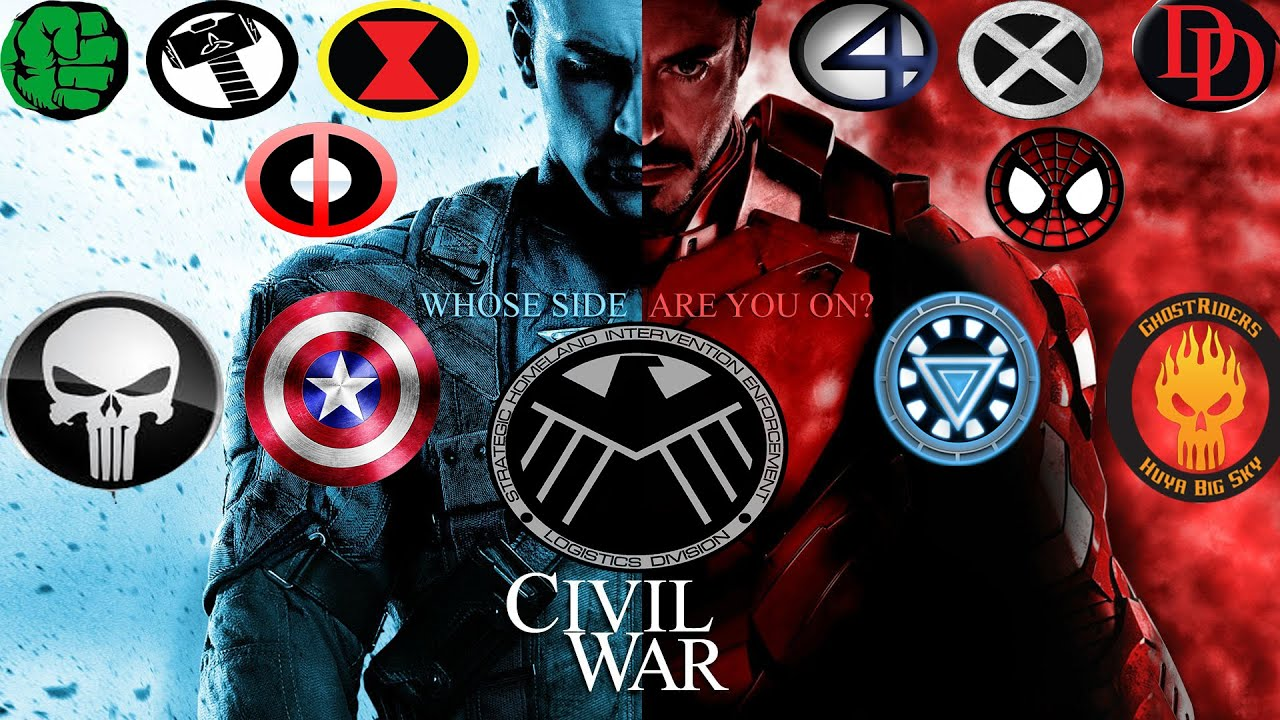 Marvel Civil War Movie Wallpaper Marvel Teasing a Civil War