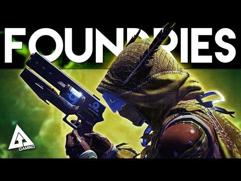 Destiny The Taken King Weapon Foundries Suros Omolon