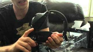 Sennheiser RS 220 Uncompressed Wireless Headphone System Unboxing & Overview