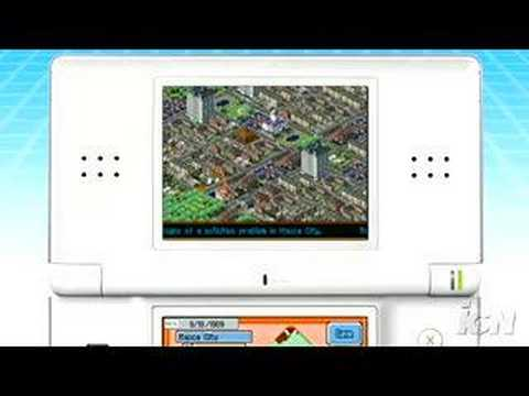 Sim City DS trailer