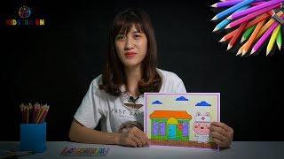Bé tô màu bạn Thỏ và làm bác sỹ: How to coloring a Rabit doctor