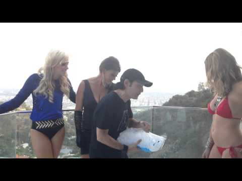 COREY FELDMAN DOES ALS: ICE BUCKET CHALLENGE W ANGELS