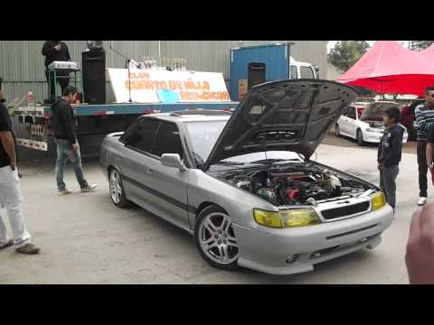 Destape motor subaru Legacy Turbo 1993