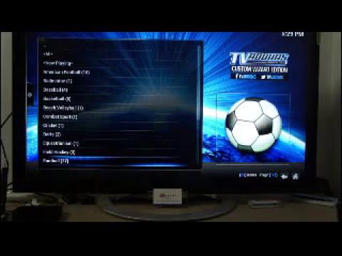 Hướng dẫn xem bóng đá bằng sopcast + sopcast football trên Android Box