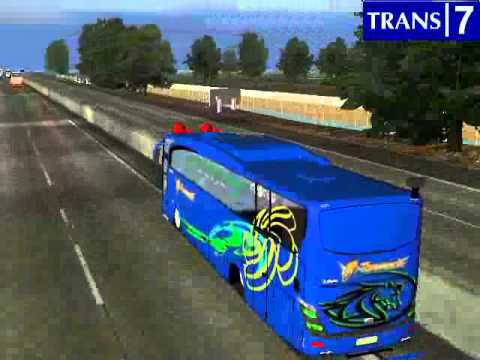 media ukts indonesia map and bus mod