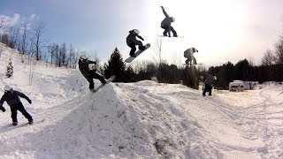 Private Snowboard Park : MINI-SHRED (GoPro Hero 3)