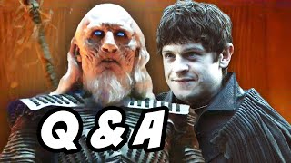 Game Of Thrones Season 6 Q&A - White Walkers and Pink Letter