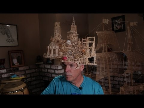 The Art of Tinkering: Scott Weaver s 100,000-Toothpick Sculpture of San Francisco